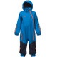 Bergans Kids Lilletind Coverall LT Sea Blue/Navy/Koi Orange